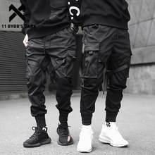 11 Bybb's Dark – Pantalon élastique noir pour homme, jogging multi poches, style hip hop