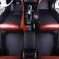 Good quality mats! Custom special car floor mats for Audi Q7 5 seats 2019 waterproof car carpets for Q7 2018 2015,Free shipping