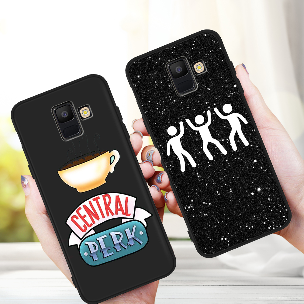 For <font><b>Samsung</b></font> Galaxy A9 A8 A7 <font><b>A6</b></font> A5 A3 J3 J4 J5 J6 J8 Plus <font><b>2017</b></font> 2018 M30 A40S A10 A20E phone <font><b>Case</b></font> etui Central Perk Coffee Friends image