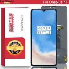 100% Nguyên Bản 6.55 Amoled Màn Hình LCD Khung Cho Oneplus 7T Màn Hình Bộ Số Hóa Cảm Ứng Một Plus 7T Chi Tiết Sửa Chữa