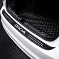 Защитная накладка для багажника автомобиля, защитные наклейки из углеродного волокна для Dacia Duster Logan Sandero устройства лодки MCV Stepway, аксессуар...