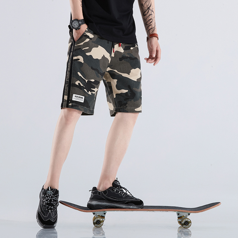 Hip Hop Sweat Shorts Mens Pantalon Corto Hombre Fashion Brand Sweatpants Streetwear Male Joggers Track Casual Cargo Shorts Homme