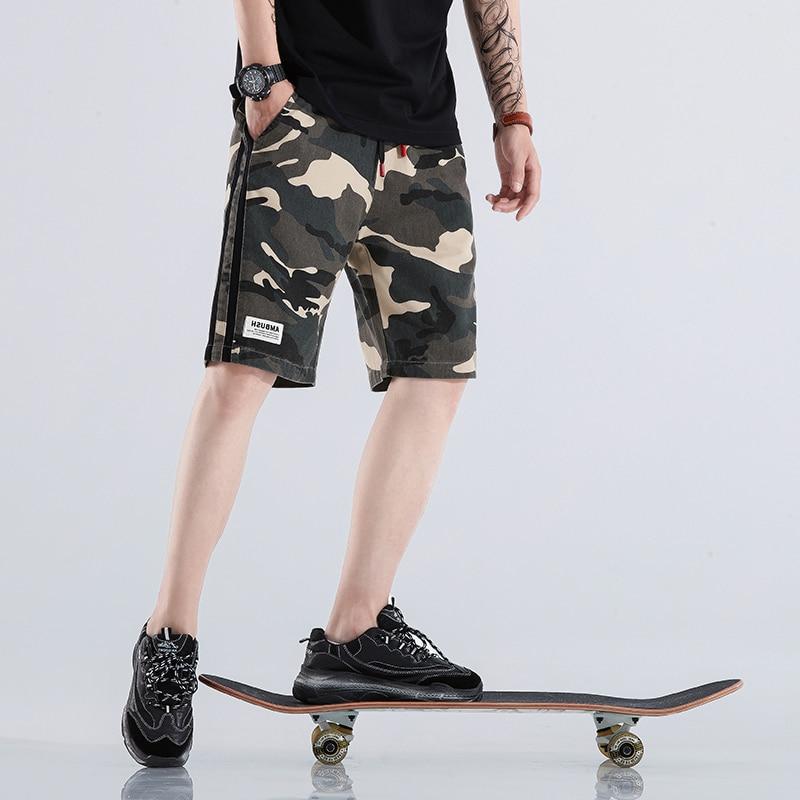 Hip Hop Sweat Shorts Mens Pantalon Corto Hombre Fashion Brand Sweatpants Streetwear Male Joggers Track Casual Cargo Shorts Homme