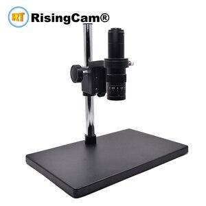 Image 1 - Zoom 0.7x 4.5x Một Mắt Zoom Stereo Kính Hiển Vi 0.5X C Mount Industrical Ống Kính Cho PCB Sửa Chữa Điện Thoại