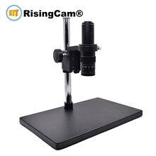 Zoom 0.7x 4.5x Éenogige Zoom Stereo Microscoop 0.5X C Mount Industrical Lens Voor Pcb Telefoon Reparatie