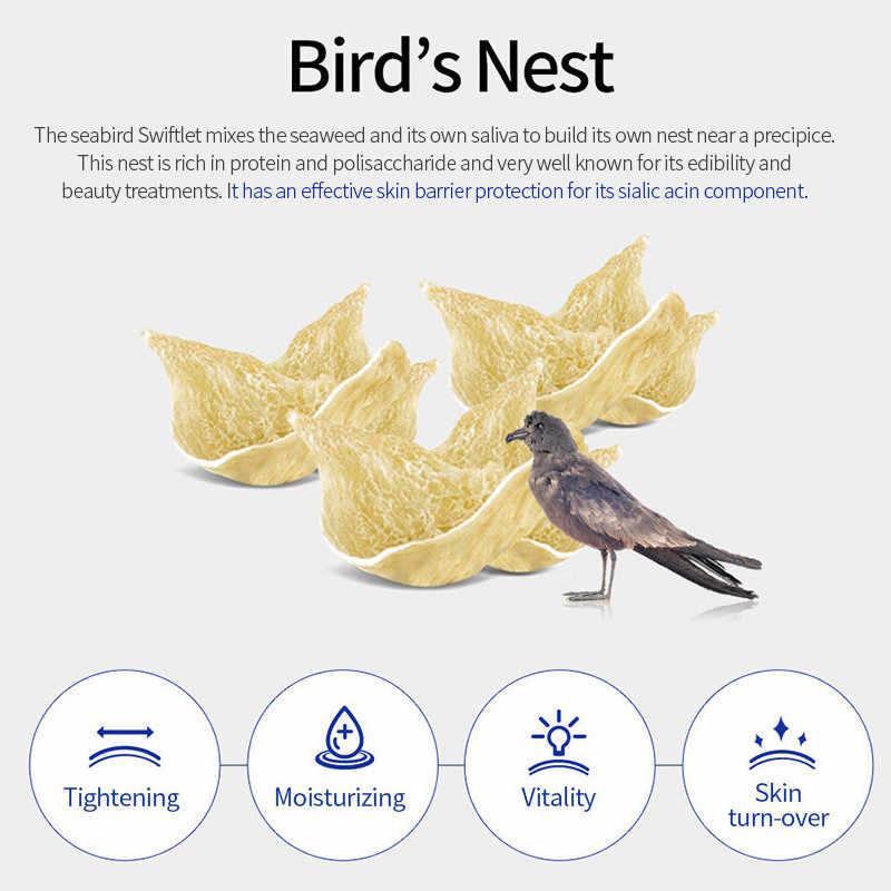 SNP коллагеновая маска для сна с птичьим гнездом, пакет для снятия раздраженной кожи, антивозрастной крем для сна, Корейская маска для лица