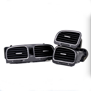 Black Front Dashboard Air Outlet Vent For Golf MK6 5KD 819 728 5KD 819 703 5KD 819 704