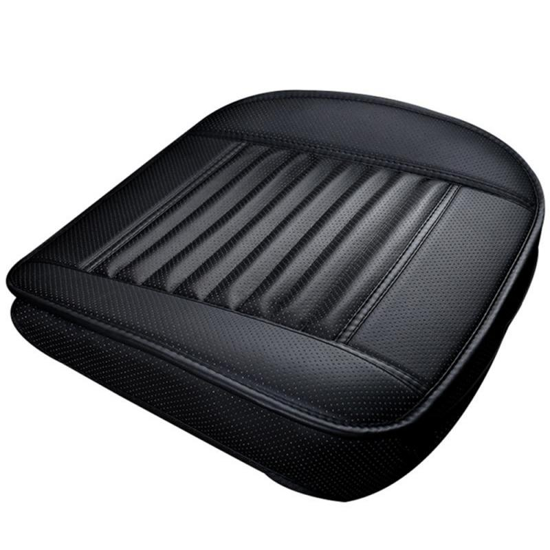 1pc Universal Non-slip Cotton Leather Comfortable Car Seat pad Auto Seat Protector Mat Car Seat Covers Car Interior Accessories