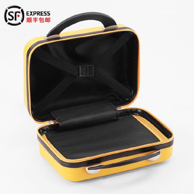 CHENGZHI mode haute qualité 20 24 26 pouces ABS + PC roulant bagages Spinner couleur Pure valise de voyage sur roues - 3