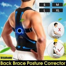 Adjustable Adult Corset Back Posture Corrector Therapy Shoulder Lumbar Brace Spi