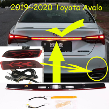 1set car bumer taillight for Toyota Avalon rear light brake 2019 2020year LED car accessories taillamp for Avalon rear light