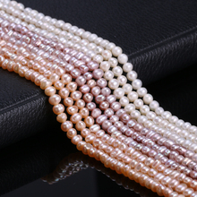Natural Freshwater Cultured Pearls Beads Round 100% for Jewelry Making Supplies Necklace Bracelet 13 Inches