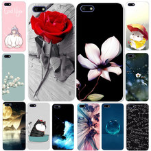 For Huawei Y5 Lite 2018 Case Soft Silicone TPU Cartoon Cover For Huawei Y5 Lite 2018 DRA-LX5 Y5Lite Y 5 Lite 2018 Phone Cover(China)