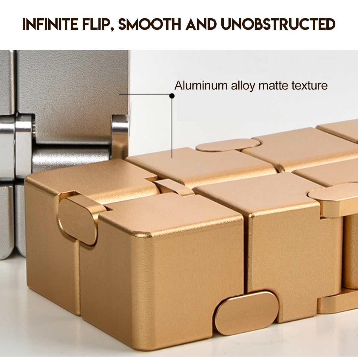 Relax Toy Infinit Cube Magic-Cube Stress Adults Relief-Blocks Finger-Anxiety Mini img3