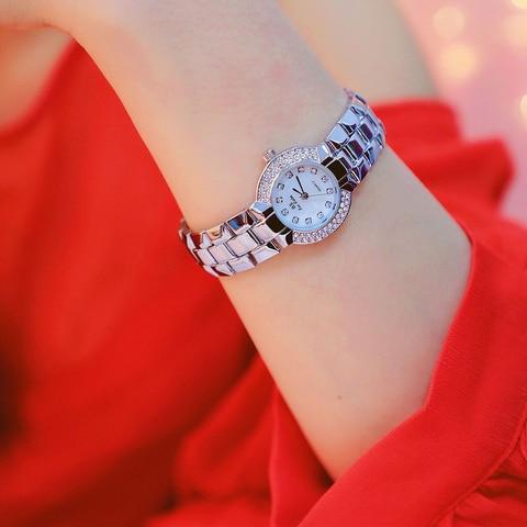 Top Brand Women Small Dial Wristwatch Ladies Diamond Quartz Watch Crystal Female Wristwatch zegarek horloges vrouwen Gift Islamabad