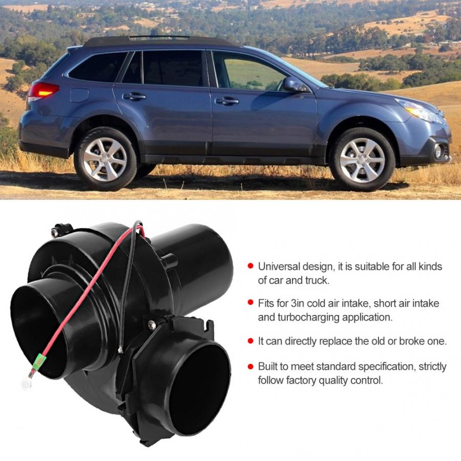 Universal 3 Electric Turbocharger Air intake for Car//Motorcycler//Truck//ATV//RV