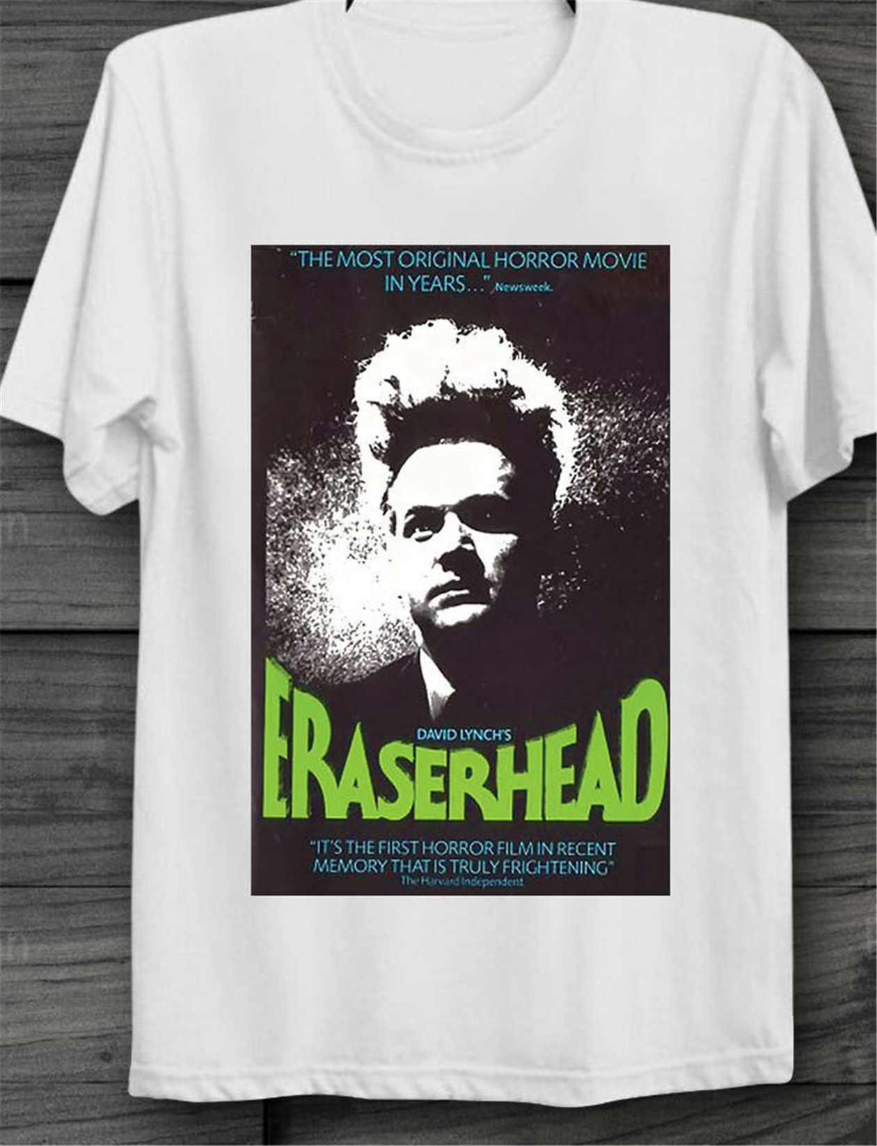 Eraserhead David Lynch Cult Horror Movie 70s Retro Vintage Unisex Tops Tee T Shirt B199 T-Shirt Custom Graphic image