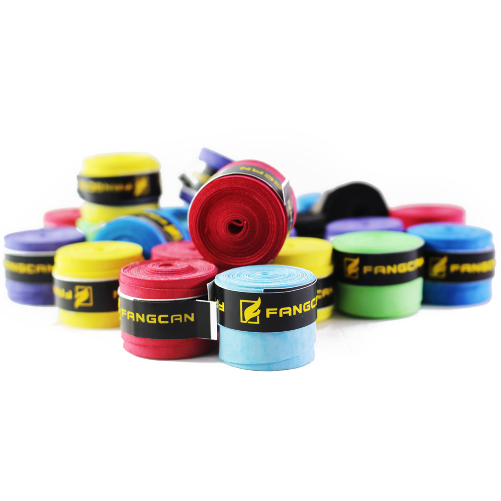 FANGCAN 3pcs Dry Feel Tennis Racket Overgrips Wearable Tennis Overgrip Abrasive Racquets Hand Wrap Badminton Thin Type Over Grip