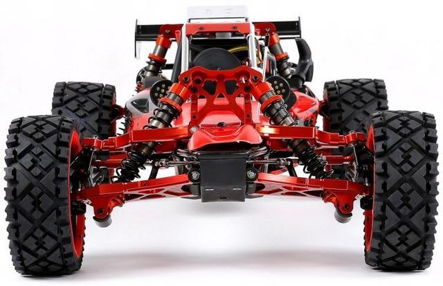 Rovan BAHA 5B 450 45cc CNC metal gasoline car 2WD RC Cars    -