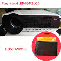 5.8 inch projector LCD screen C058GWW1-0 resolution 1280x800 for Rigal projector RD-806 RD-808 repair
