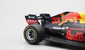 Image 3 - Bburago 1/43 1:43 2018 RB14 Red Bull Verstappen No33 F1 Formula 1 Racing Car Diecast Display Model Toy For Kids Boys Girls