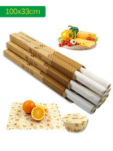Film Cloth Packaging Beeswax Kitchen-Tools Fresh Vacuum-Food-Storage Reusable
