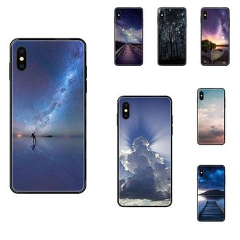 Silicone Case Infinity Sky Best Friends For Apple iPhone 11 12 Pro XS Max XR X 8 7 6 6S Plus 5 5S SE image