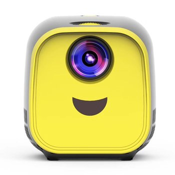 1 New Mini Home Portable Projector HD LED Projector Multimedia Wireless Smart Home Children's Toys Gift