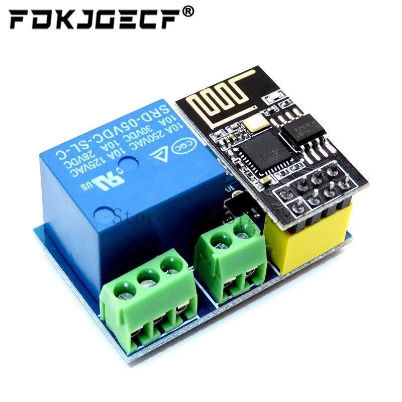 Релейный модуль ESP8266 ESP-01S 5V WiFi, умный дом, дистанционный переключатель для Arduino Phone APP ESP01S, Беспроводной Wi-Fi модуль