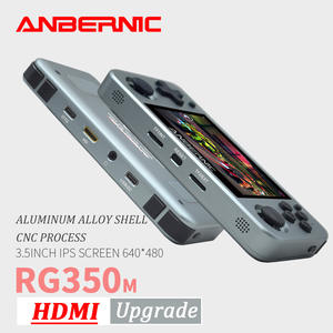 Console Game-Player Emulators PS1 Video-Games Ips-Screen Handheld Anbernic Rg350m Aluminum-Alloy