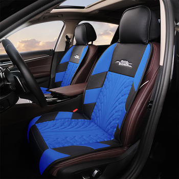 AUTOYOUTH Car Seat Cushion Polyester Fiber Seat Protection Seat Seat Covers For Golf For Skoda For Peugeot For Citroen For Alfa image