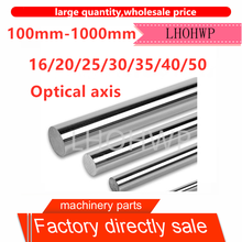 45# steel chrome-plated rod/linear optical axis/soft shaft/piston rod/diameter 16 20 25 30 40 50 length 100-1000mm/polished rod