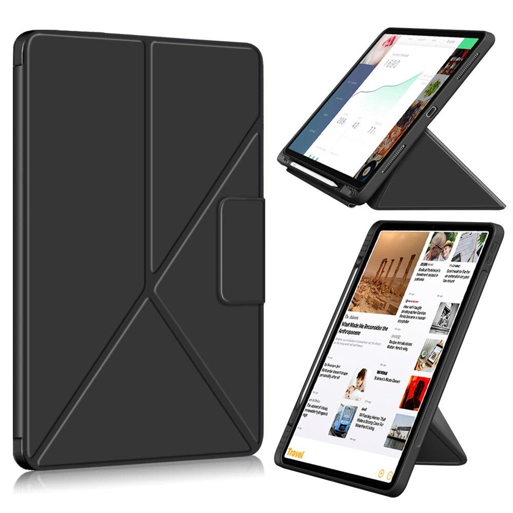 Чехол для ipad pro 11 12,9 2021, защитный чехол для планшета, чехол для ipad Air 4 2020 с держателем для карандашей