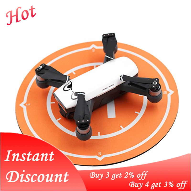 for DJI Spark Drone Landing Pad Waterproof Desktop Parking Apron 25cm Foldable Tarmac Damper Mavic Mini Accessories Tello