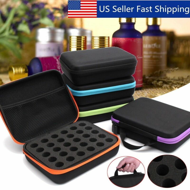 30 Slots Essential Oil Bottle Carry Case Holder Storage Aromatherapy Hand Bag 5