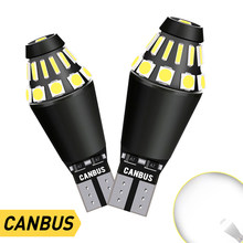 2X W16w Led Canbus T15 Bulbs On Cars Backup Lamps Marker Brake Reverse Lights For Skoda Superb Octavia A7 A 5 2 Fabia Rapid Yeti
