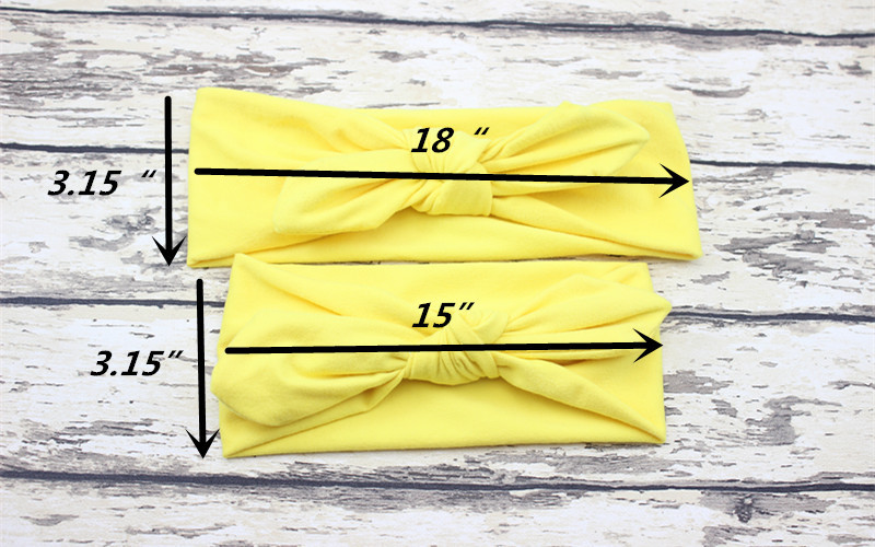Naturalwell Mommy and Me Top Knots Headband Set Turban Mom and Daughter Headbands Mom and Daughter Turban Head wraps Set 20sets