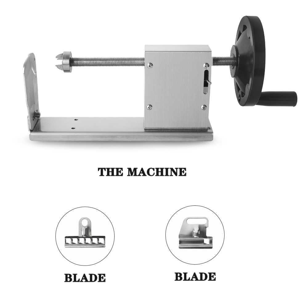 Kentang Spiral Slicer Mesin Vegetable Cutter Kentang Memutar Mesin Penghancur Menara Pisau Gadget Memasak Alat