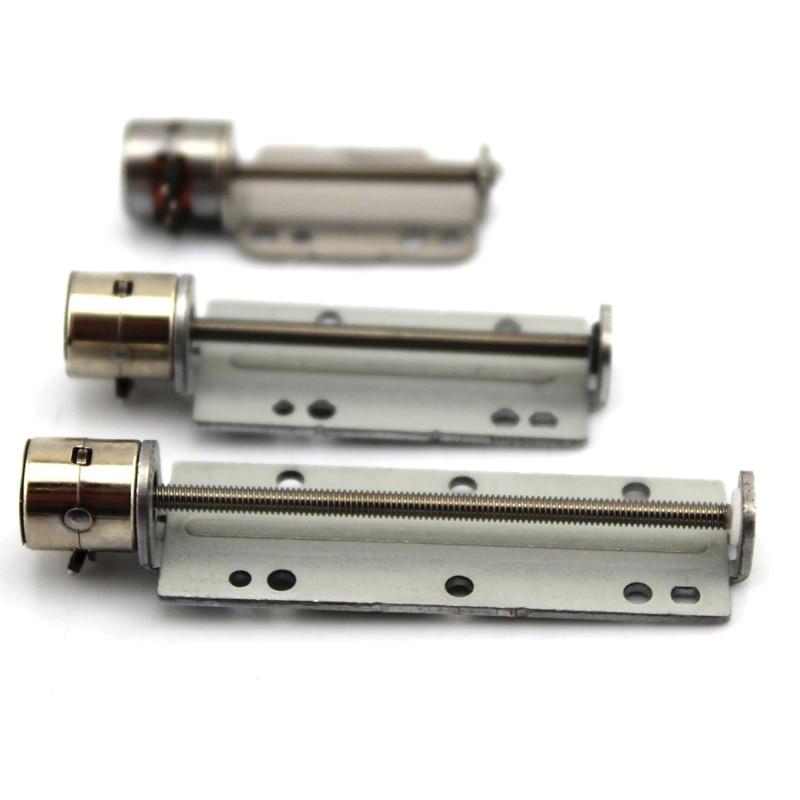 30mm/40mm/50mm Stroke Micro Mini Precision Screw Linear  Stepper Motor DC 5V 2-Phase 4-Wire Linear Actuator