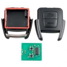 1 шт Черный Прочный 433 МГц 2 кнопки дистанционного ключа автомобиля