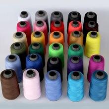 Высокопрочная катушка, многоцветная швейная нить 1300Y 40S/2, промышленная линия, провод, шнур, домашняя игла, рабочие аксессуары 50 цветов