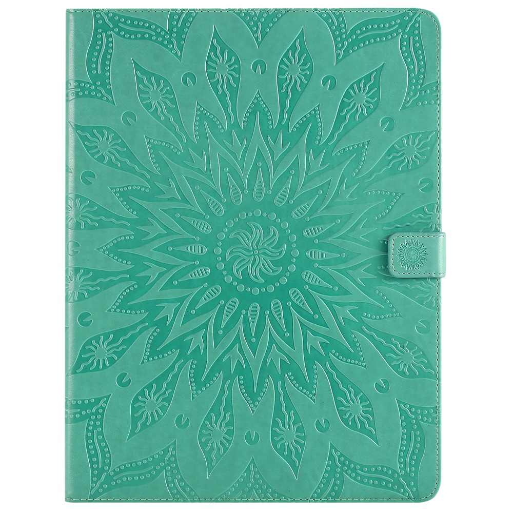Flower Case Protective 12 iPad 3D for 2020 Pro Leather Cover Skin 9 Shell Embossed