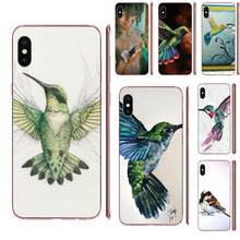 Soft Pattern For Xiaomi Redmi 3 3S 4 4A 4X 5 6 6A 7 K20 Note 2 3 4 5 5A 6 7 Plus Pro Hummingbird With Love(China)