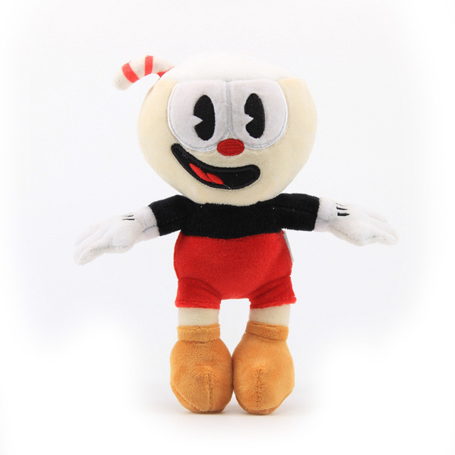 13 style Cuphead Plush Doll Toys Mugman The Chalice Soft Plush Stuffed Toys Cute Cartoon Doll For Kid Children Christmas Gifts