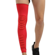 Outdoor Sport Knee Pad Sleeve Long Breathable Leg Protector For Fitness Climbing Basketball Football Cycling Sportswear