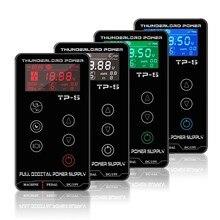 Alimentation électrique pour dermographe avec écran tactile, source TP-5 pour machine à tatouer, affichage numérique LCD, accessoire de maquillage permanent