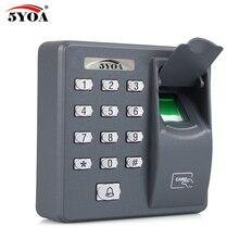 Biometrico di Impronte Digitali di Controllo di Accesso Macchina Digitale Elettrico RFID Reader Scanner Sensore di Sistema di Codice Per La Serratura Della Porta