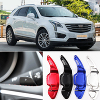For Cadillac XT5 2016-2018 2pcs Steering Wheel Aluminum Shift Paddle Shifter Extension Car-styling