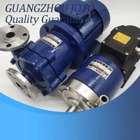 16CQ 8 Corrosion Resistant Pump Horizontal Stainless Steel Chemical Transfer Magnetic Drive Pump