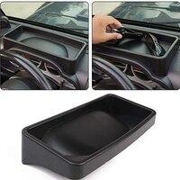 Dashboard Storage Box Organizer Container for 2007 2010 Jeep Wrangler JK JKU Car Interior Accessories ABS Black Car Styling